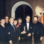1998 Москва. На вручении премии Фемида