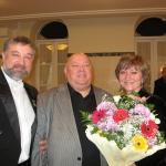 2009 На вручении премии губернатора с М.Сафроновым
