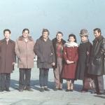 Фото руководителей советской делегации и Уральского хора