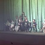 Репетиция в театре «Мансуде» концерта для Ким Ир Сена
