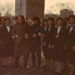 Засл.артисты Иван Пермяков и Евгений Хохлачев со служащими отеля