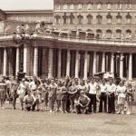 На площади Святого Петра, Рим, 1975 г.