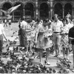 Фото на площади Дуомо, г. Милан