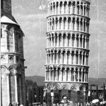 Фото на фоне Пизанской башни