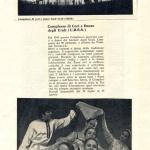 Вырезка из газеты «Унита»  о гастролях Уральского хора