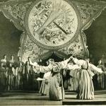 «Байновская кадриль» в Москве, 1947 г.