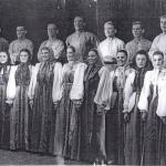 Хоровая группа, 40-е г.