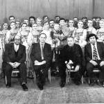 Фото на память с Уральским хором, 1991 г.
